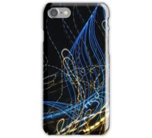 Lightpainting Single Wall Art Print Photograph 8 iPhone Case/Skin