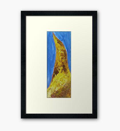 Deserted (Mirage) Framed Print