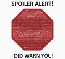 Spoiler Alert! One Piece - Short Sleeve