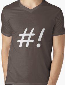 Bash Mens V-Neck T-Shirt