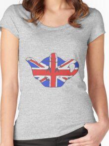 Teapot UK tee Women's Fitted Scoop T-Shirt