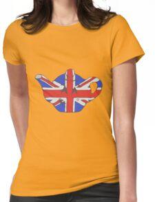 Teapot UK tee Womens Fitted T-Shirt