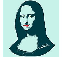 Pop Art Mona Lisa or La Gioconda Photographic Print