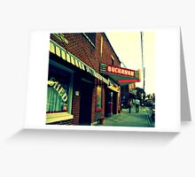 Buchanan Theater Greeting Card