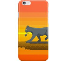 Pixelized cat and mouse iPhone Case/Skin