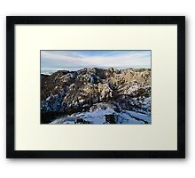 In the mountain of Velebit Framed Print