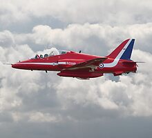 Red Arrows - H.S. Hawk by warbirds