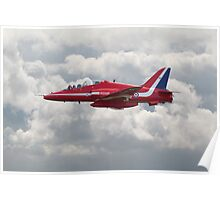 Red Arrows - H.S. Hawk Poster