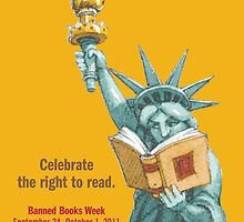 2011 Banned Books Week poster by abffe