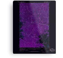 USGS Topo Map Washington State WA Loup Loup 242078 1956 62500 Inverted Metal Print