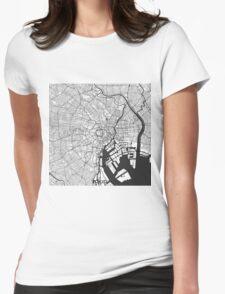 Tokyo Map Gray T-Shirt