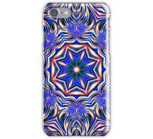 Psychedelic Kaleidoscope 1 Blue Mandala -  iPhone & iPod Case iPhone Case/Skin