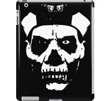 IN YOUR FACE - solid white iPad Case/Skin