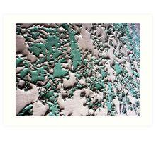 Peeling Art Print