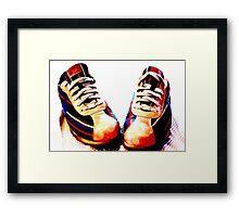 Custom Kicks, Nike Framed Print