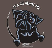 Black Pug :: It's All About Me One Piece - Short Sleeve
