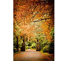 Autumn awaits, come home... Photographic Print