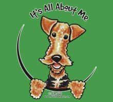 Airedale Terrier :: It's All About Me by offleashart