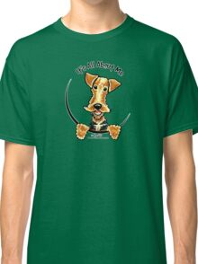 Airedale Terrier :: It's All About Me Classic T-Shirt