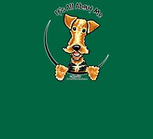 Airedale Terrier :: It's All About Me Womens Fitted T-Shirt