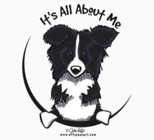 It's All About Me :: Border Collie by offleashart