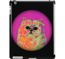 Psychedelic Cat II iPad Case/Skin