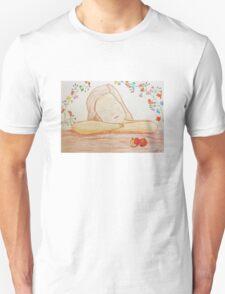 Listening girl Unisex T-Shirt