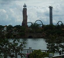 Universal Islands of Adventure, The Hulk - Florida by PaulRoberts