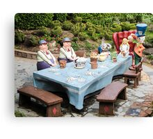 The Mad Hatters Tea Party Canvas Print