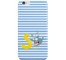 s for shark iPhone Case/Skin