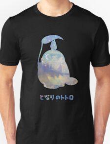 My Winter Neighbour Totoro Black Unisex T-Shirt