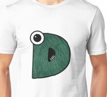 Monster Letter D Unisex T-Shirt