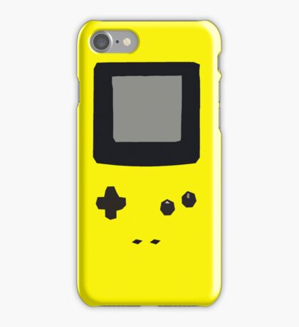 Yellow Gameboy Colour iPhone Case iPhone Case/Skin