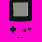 Purple Gameboy Colour iPhone Case by Jake Driscoll