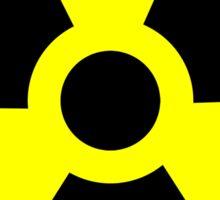 Nuclear Radiation Warning Sign Sticker