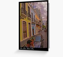 Essence of San Juan Greeting Card