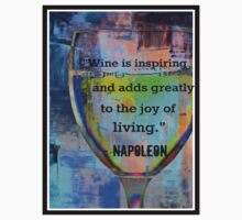 Wine Quote - Napoleon by CorxandForx