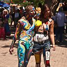 Taos Hippie Parade the Stars by doorfrontphotos