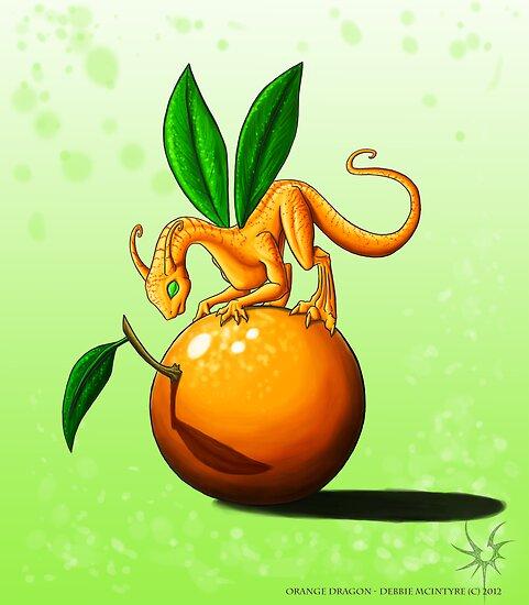 Orange Dragon by DragonTiger