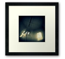 The End of the Rope Framed Print