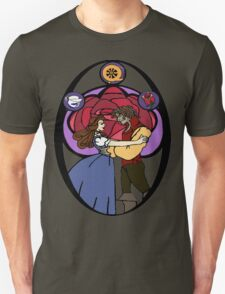 Rumbelle (Stained Glass) T-Shirt