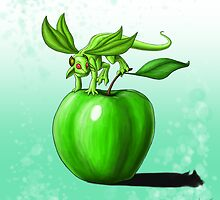 Apple Dragon by DragonTiger