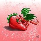 Strawberry Dragon by DragonTiger