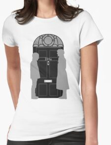 The Address is 221B Baker St Womens Fitted T-Shirt