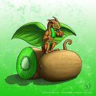 Kiwi Dragon by DragonTiger