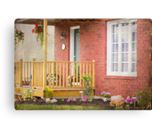 My Front Porch Canvas Print