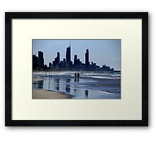 Gold Coast Stroll #2 Framed Print