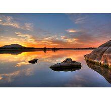 Rock Calm Photographic Print