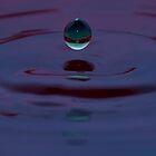 First Water Drop by Chris Ferrell