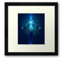 Transhuman Ascension Framed Print